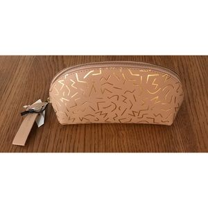 Cost Plus World Market Bags - NEW Leather World Market Cosmetic Pencil Case